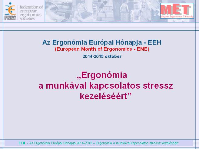 Ergonómia a munkával kapcsolatos stressz kezeléséért