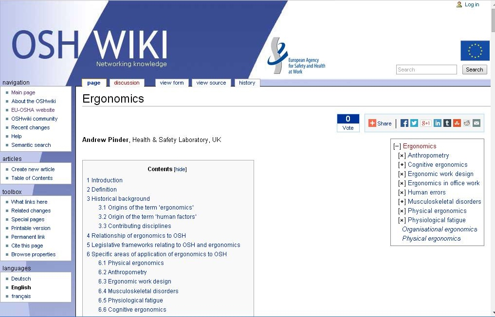 OSHwiki screenshot